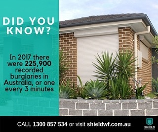 Don't be a statistic and keep your family safe this summer! Call us today for 15% off all Roller Shutters 1300 857 534. • #shieldwf #sydney #construction #building #rollershutters #rollershutter #security #reno #renovation