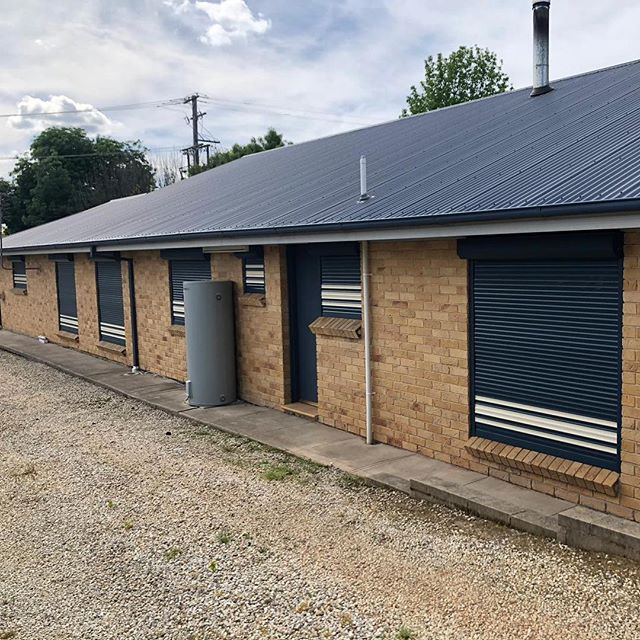 Another house secured against the summer heat by the Shield team! Call us today for a measure and quote 1300 857 534. • • #shieldwf #rollershutter #rollershutters #sydney #construction #building #summer #shutters #reno #renovation #remodel