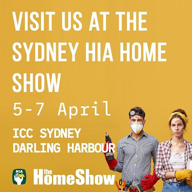 Come see the Shield Team this weekend at The Sydney HIA Home Show in Darling Harbour!