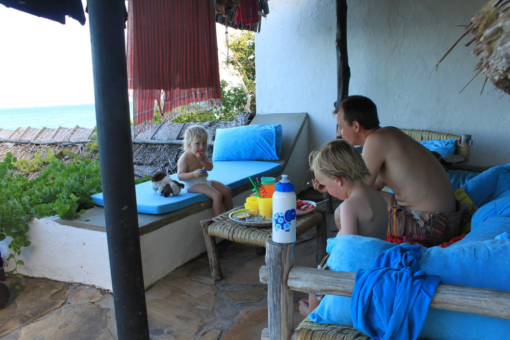Familiehygge ved kysten