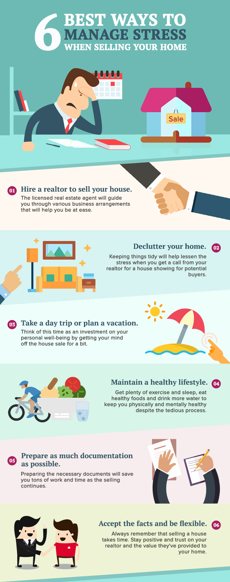 6 Of The Best Ways to Manage Stress When Selling Your Home
