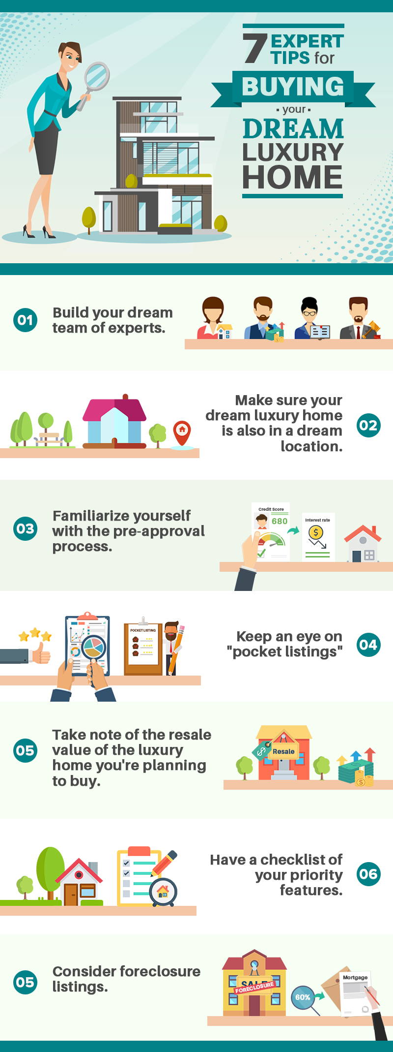 7 Expert Tips For Buying Your Dream Luxury Home