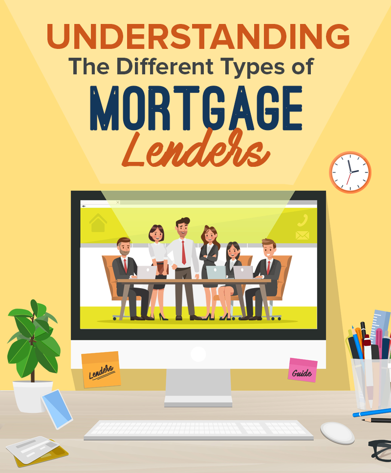 An Easy Guide to the Different Types of Mortgage Lenders (Before Choosing the Right One for You)