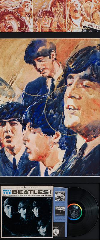 America 1964: 145x60cm