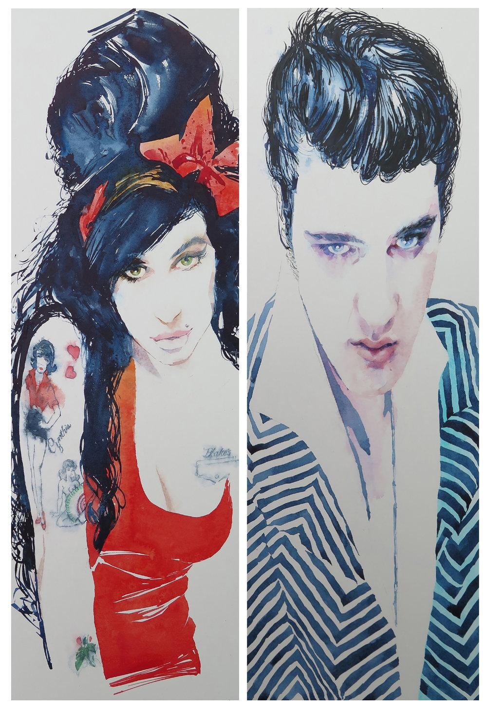 Amy & Elvis