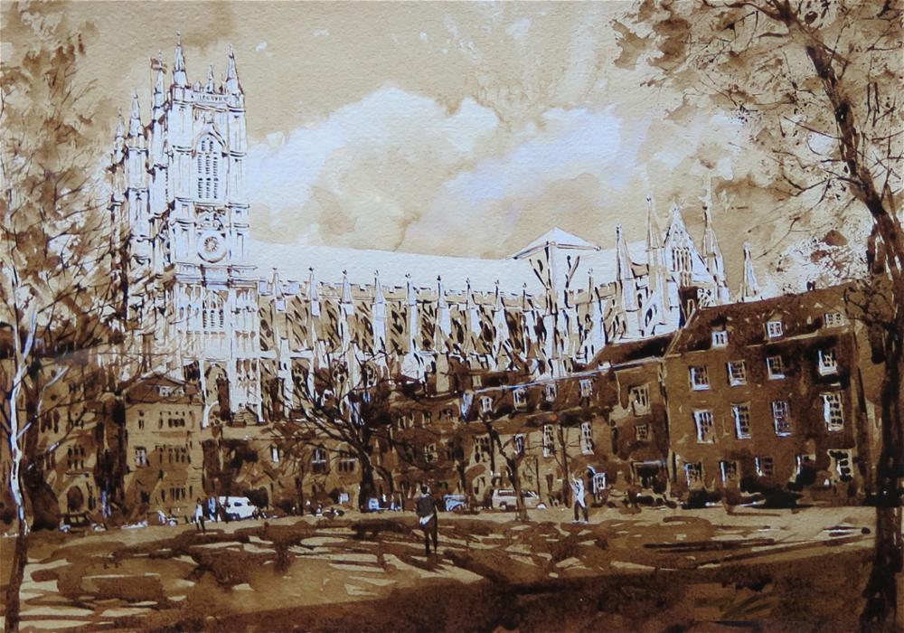 Westminster School: 28x40cm