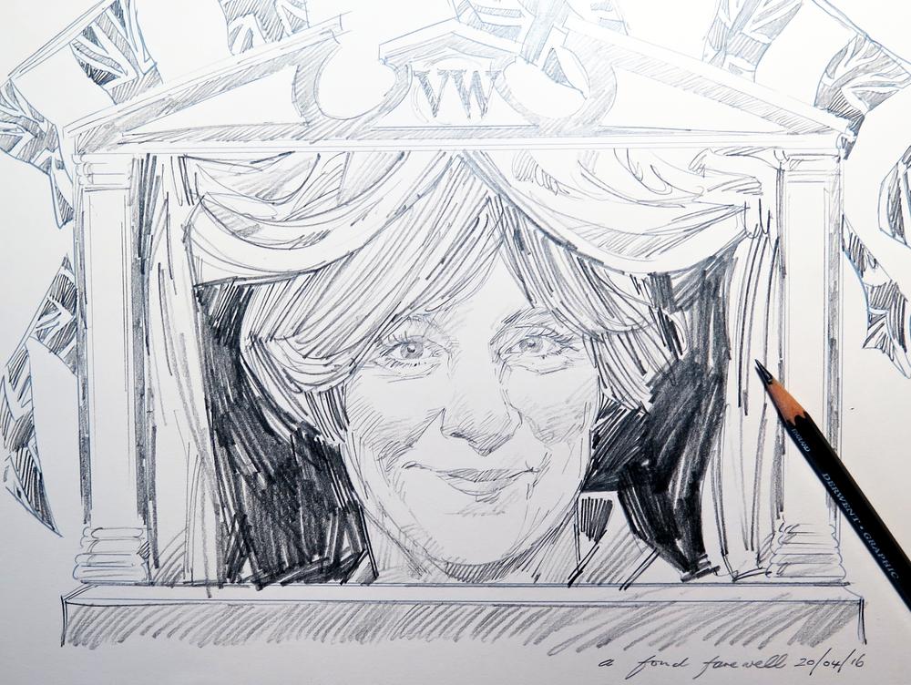 A Fond Farewell, Sketch