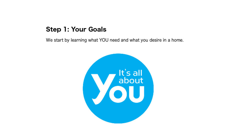 Step 1: Your Goals