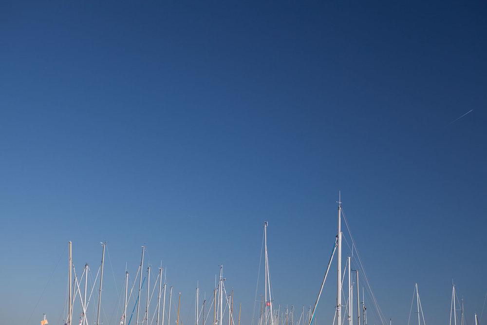 Minimal Skies III - Masts