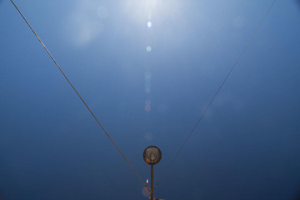 Minimal Skies IV - Sun Street Lamp