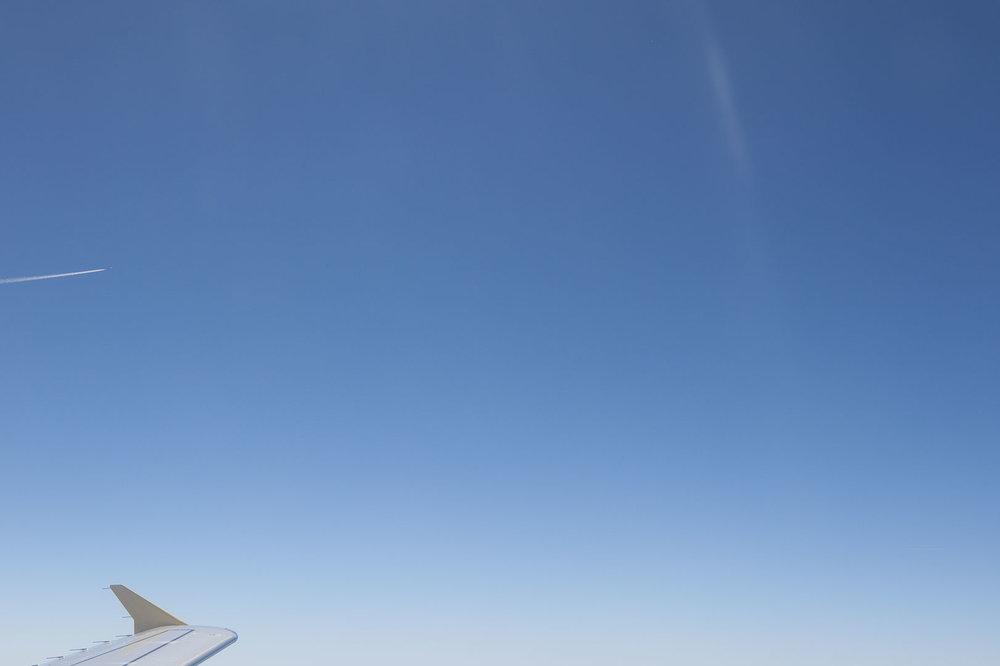 Minimal Skies VII - Plane Wing