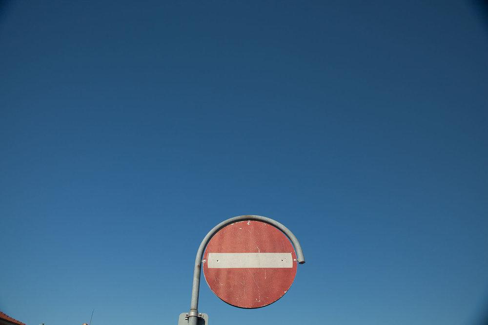 Minimal Skies XVI - Stop