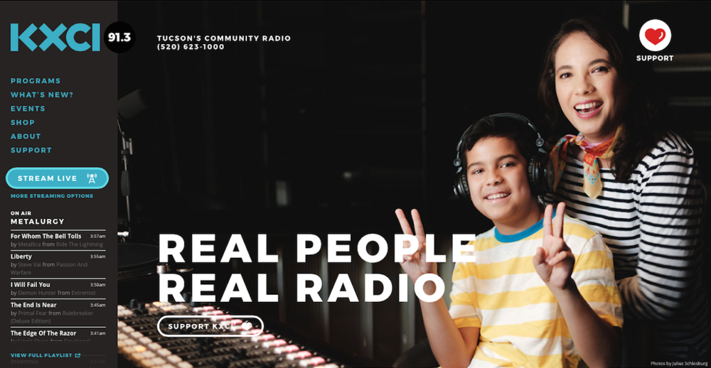 "Recently I was honored with the opportunity to do an interview with Tucson´s Community Radio station KXCI, on their ""Broad Perspectives"" program. You can listen to the full interview by clicking the link below:"