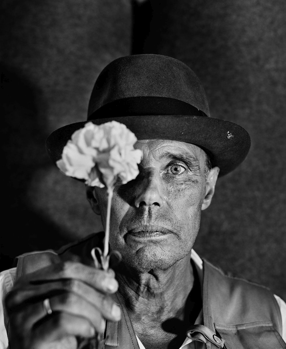 "The Guardian ""My Best Shot"" -  Alastair Thain's best photograph: Joseph Beuys close to death"