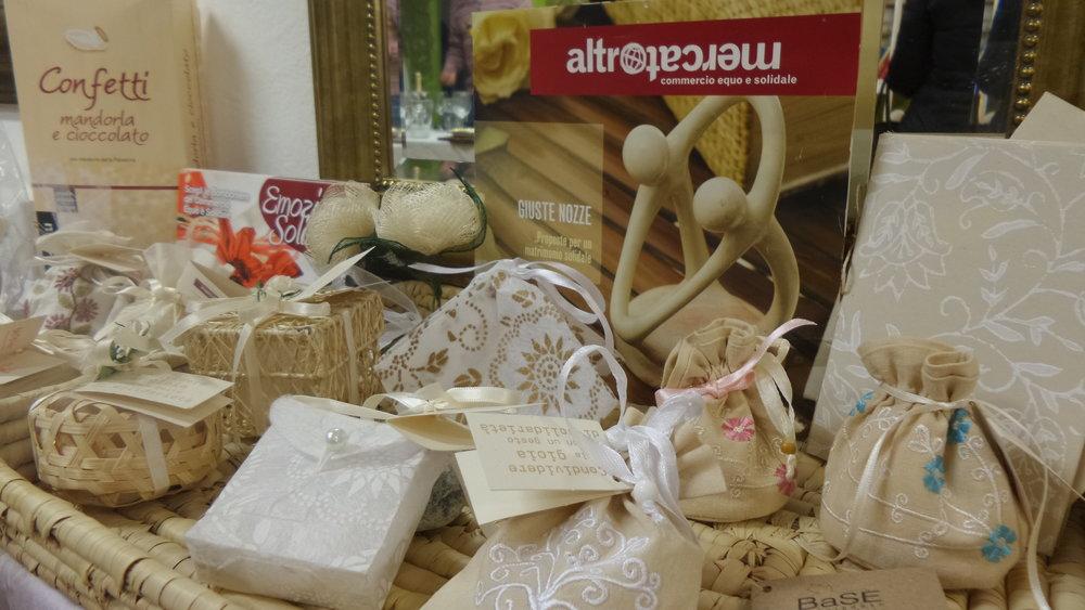 Fairtrade Geschenksideen, Karten u.a. - by Le Formiche, Altromercato und Dritte Welt Läden