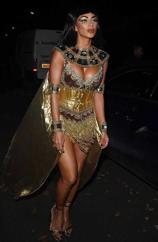 Cleo Nicole - This Pussycat Doll pulls off being the Queen of the Nile with fantastic shimmer.