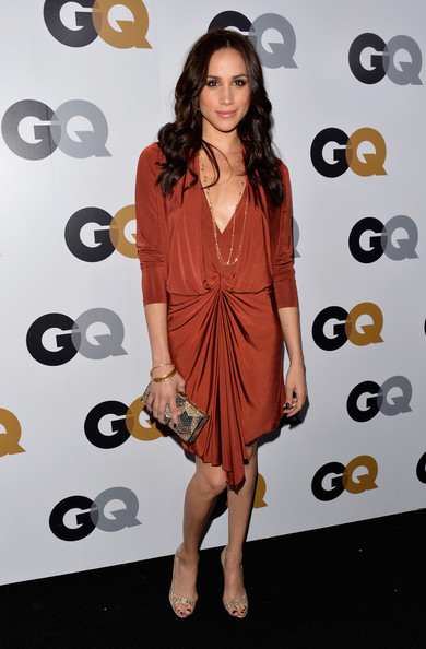GQ Party - At a celebration for Men of The Year 2012, a year after starting her role as Rachel Zane on Suits.