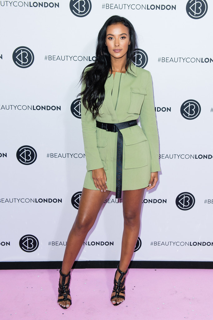 Maya Jama, Glamorous and Elegant - Sitting down to talk to her friend Alesha, the TV presenter discussed changing beauty standards and how her high-profile relationship with artist Stormzy relates to her career.