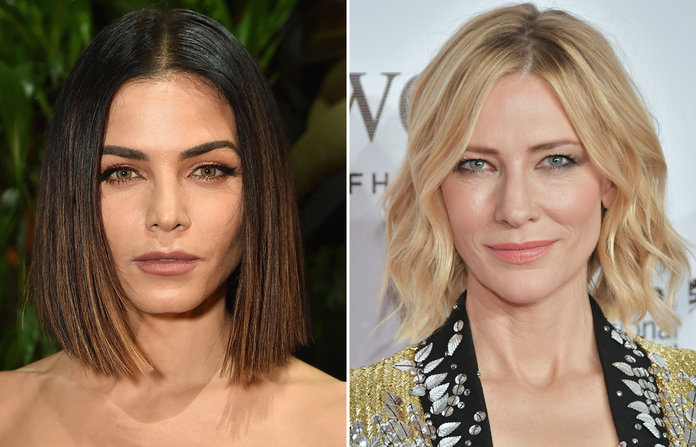Long Bob - You get many styling options with this haircut. You can have it smooth like Jenna Dewan Tatum or beachy waves like Cate Blanchett