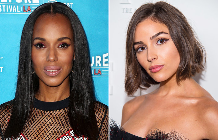 Blunt Ends - Have a fresh start with long hair like Kerry Washington or short hair like Olivia Culpo.