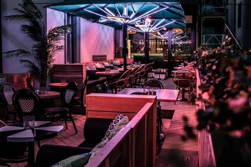 TERRASSEN - Takterrasse og gin bar.