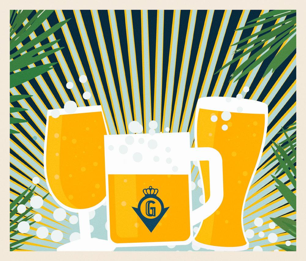 Öl, Pilsner, Ale, Saison, IPA, Pivo … - På Grand Öl & Mat har vi ett brett men noga utvalt ölsortiment. Vi arbetar huvudsakligen med mindre hantverksbryggerier från Norden, Europa och USA. Sortimentet varierar efter säsong och vad bryggerierna har bryggt för tillfället.Vår tjeckiska opastöriserade öl importerar vi själva och serverar i sejdlar från tjeckisk vridkran. Grands husöl, TT-Deluxe Eko, har vi själva varit med och tagit fram tillsammans med våra systerkrogar Kafé Deluxe, Tyrolen och Far i Hatten.Vi har ett 30-tal öl på flaska/burk och 10 öltappar där några öl är fasta och andra byts ut frekvent. Självklart har vi ett väl utvalt utbud av alkoholfria öl med.Här kan ni se vad vi har på fat just nu!