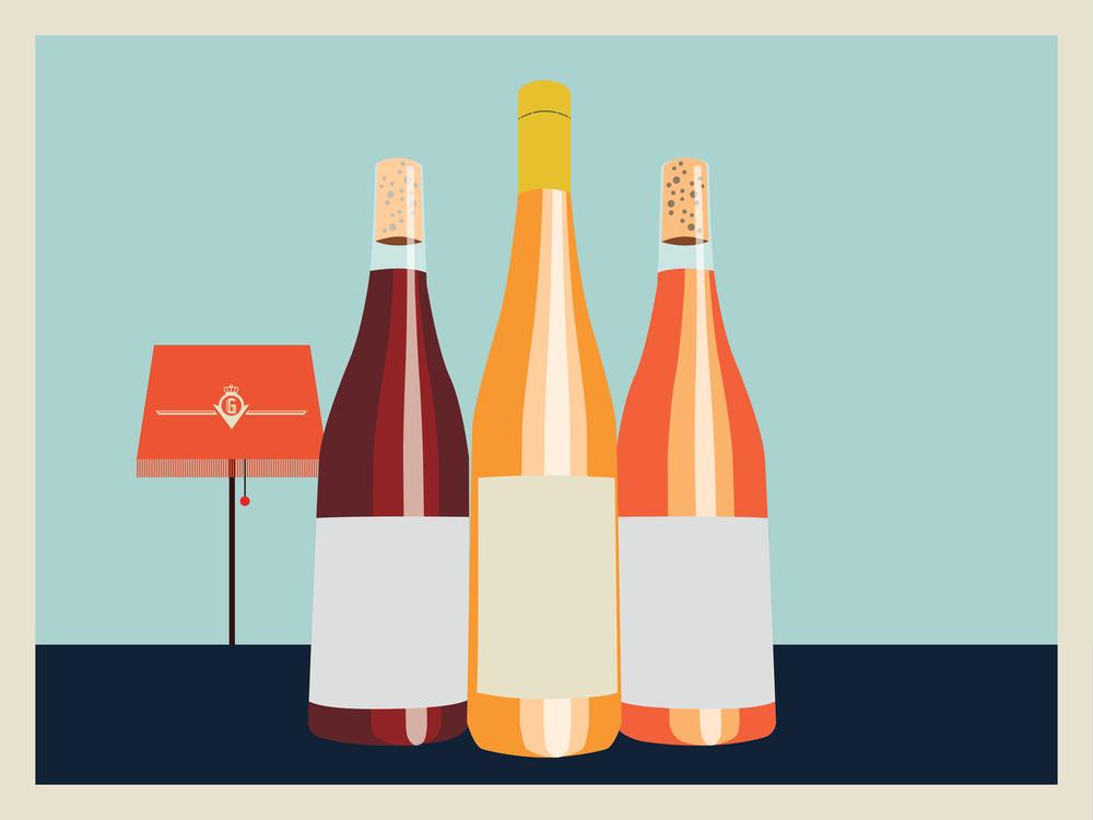 Grandiöst vinskåp - Spana in vårt vinskåp som numer är en central del av vår nya bar. Här hittar du alla Grands viner.Våra viner är hantverksmässiga viner framställda med stor respekt för ursprung, druva och natur.Tyngdpunkten ligger på klassiska områden med spännande uttryck och viner som är framställda genom ekologiska, biodynamiska och helt naturliga principer.Gott och läskande!