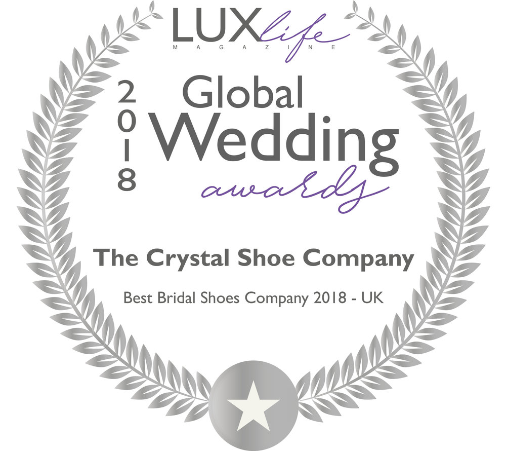 Lux Global Wedding awards Best bridal shoes 2018