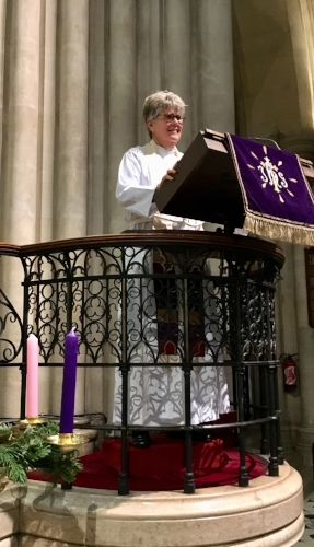 The Very Rev. Tracey Lind at The American Cathedral in Paris
