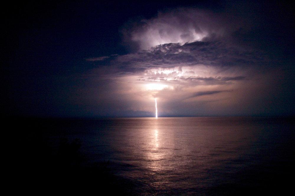 Lake Erie Lightening