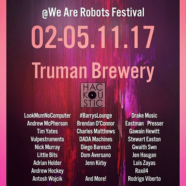 #London will be performing this Sunday 3pm @trumanbrewery for @wearerobots2017 festival. Hosted by the wonderful @hackoustic. Will be playing with @kuzushi22 and performing music from coming #geometricalbum #Londonmusic #music #musician