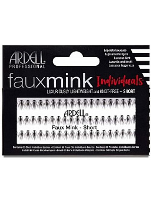 670ba97050b Ardell Faux Mink Individual Lashes. Short. Medium