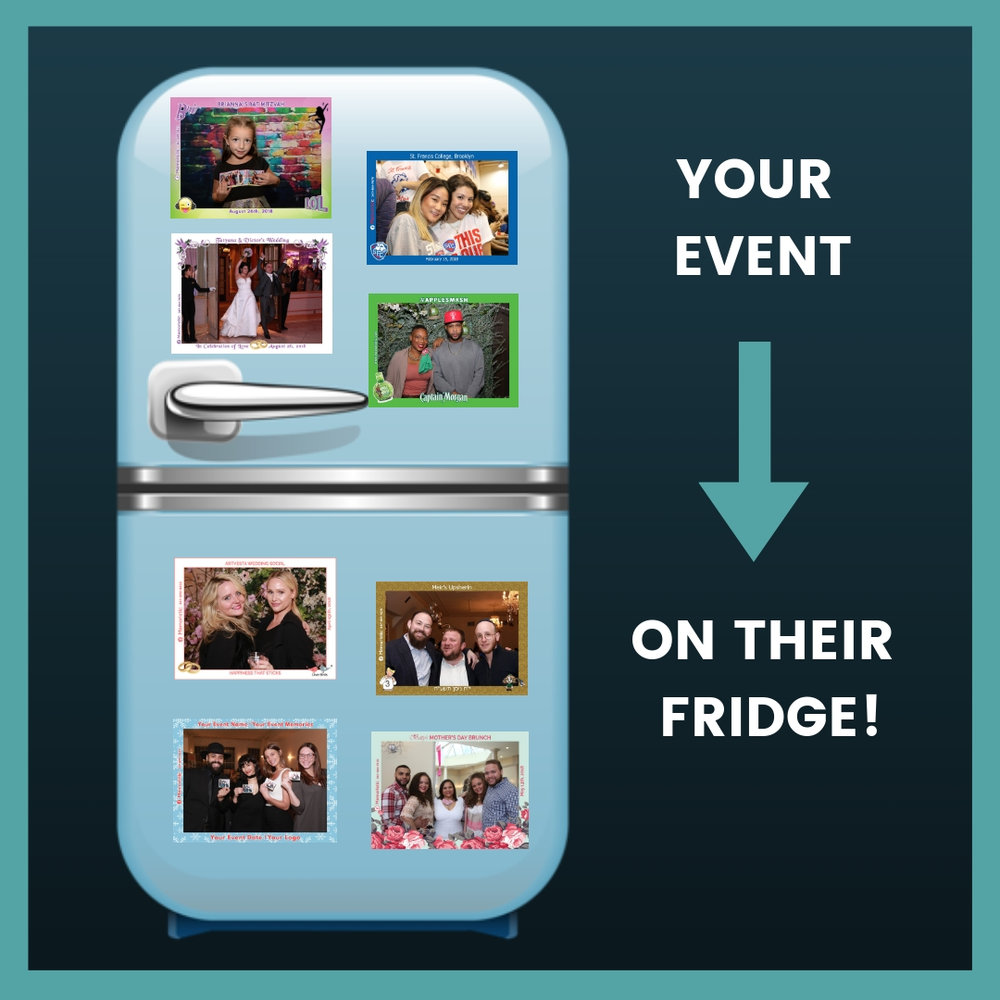 Never pass the fridge again without taking a walk down memory lane!