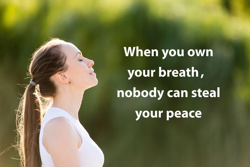 Kun johdat itse itseäsi, kukaan ei voi viedä rauhaasi.