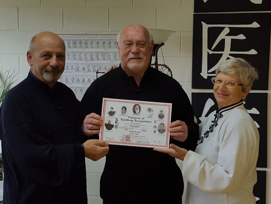 Sifu Bill Pickett    Certified 24 Posture Wu Yi Jie He Qigong Instructor Trainer (Level 3)   Bill has 30 plus Years experience in Tai Chi and Qigong in various modalities. He started his training in the Wu Yi Jie He 24 Posture Qigong in 2009 with Grand Master Helen Wu. He continued in 2012 with Grand Master Wen Ching Wu. As bill became more interested and started practicing the form on a regular basis, he found Sifu George Picard in Canada and completed his studies to become an Instructor Trainer in 2017. He Teaches his local classes, The 24 Posture Qigong and also conducts weekend workshops in different locations in the USA. Bill is also a Master Trainer with Dr. Paul Lam's Tai Chi for Health Institute and Conducts instructor certification Classes for Dr. Lam's Tai Chi for Health Program.  Knoxville, Tennessee  Phone: 865-567-4837  Email: BillPickett20@gmail.com