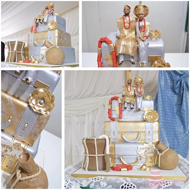 3 Tier Nigerian Engagement Cake SC12