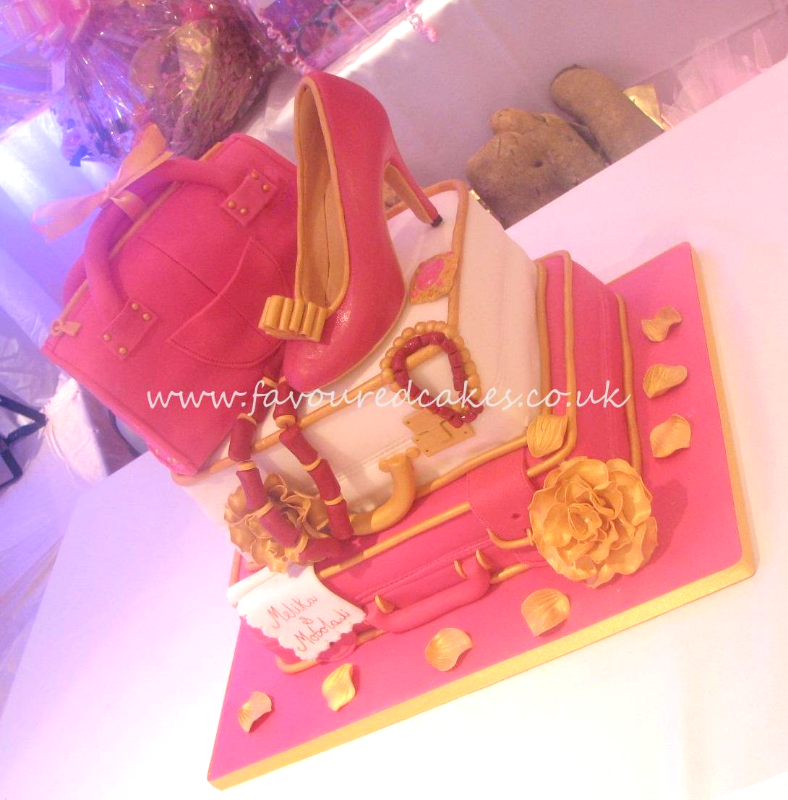 Bridal Gift Traditional Wedding Cake