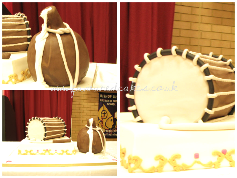 Talking Drum & Calabash Cake