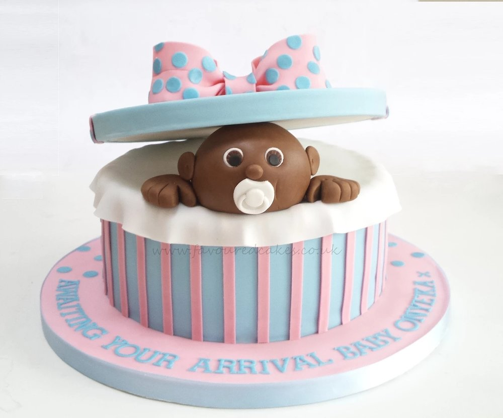 Baby Gift Baby Shower Cake BS2