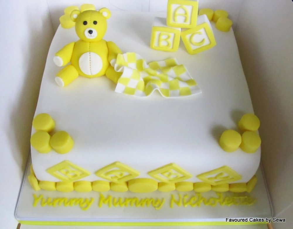 Baby Shower / Christening Cake