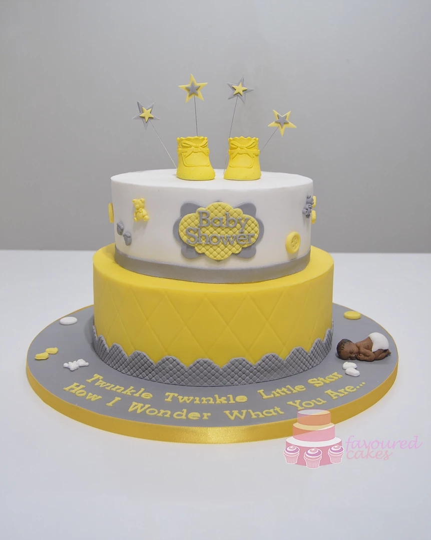 Baby Shower Amp Christening Cakes Favoured Cakes