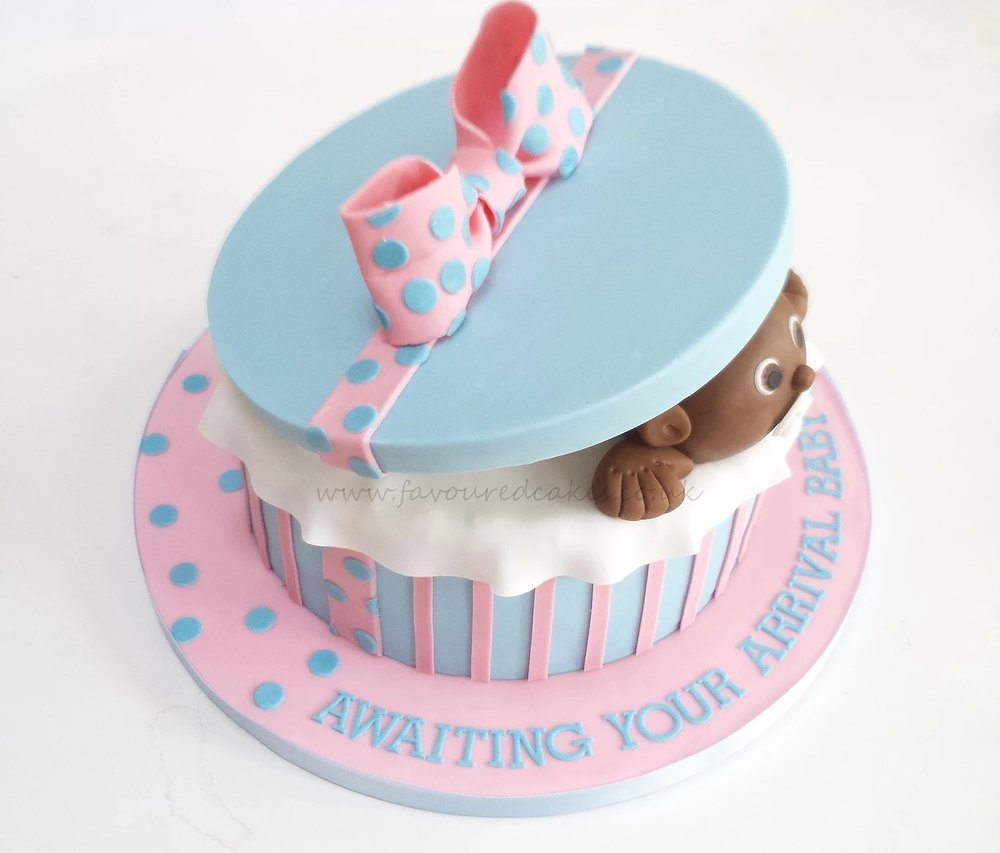 Baby Gift Baby Shower Cake