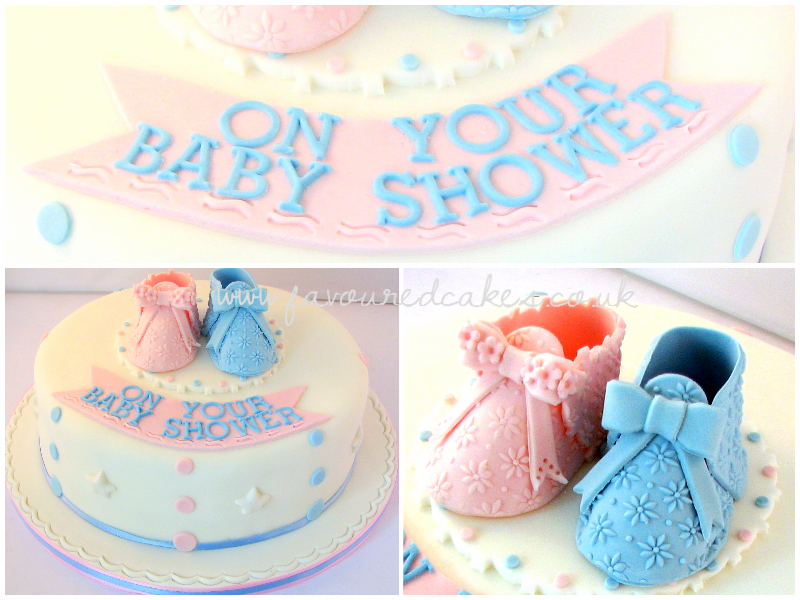 Baby Booty Baby Shower Cake