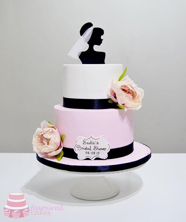 Bride Silhouette Cake