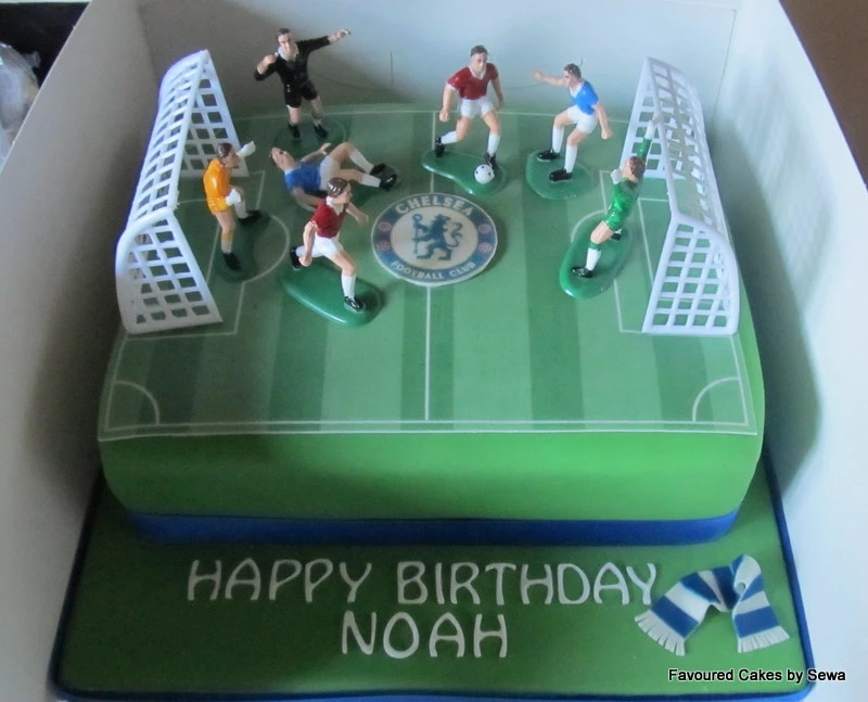 Football Pitch Cake FBP1