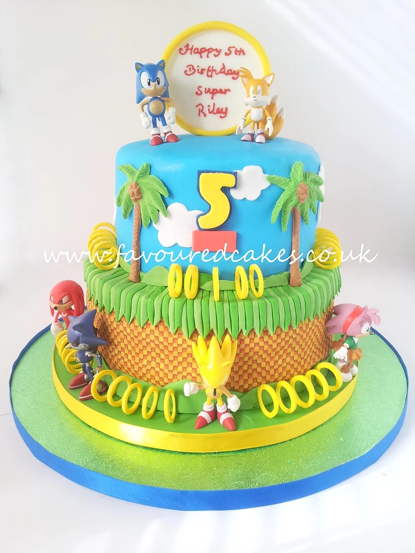 Sonic the Hedgehog Cake SN02