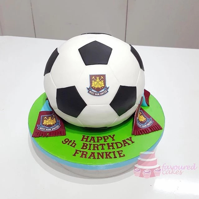 West Ham Football Cake