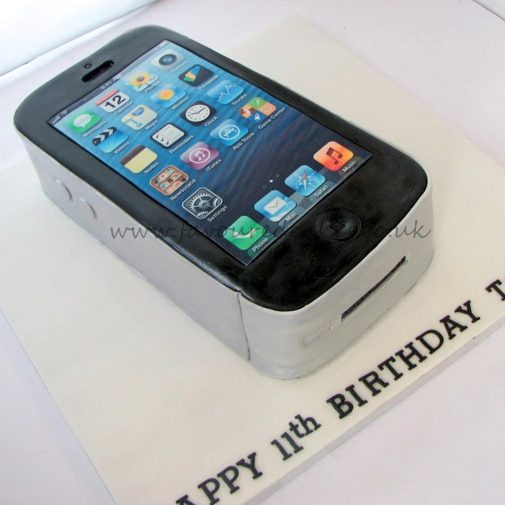 iPhone Cake PH01