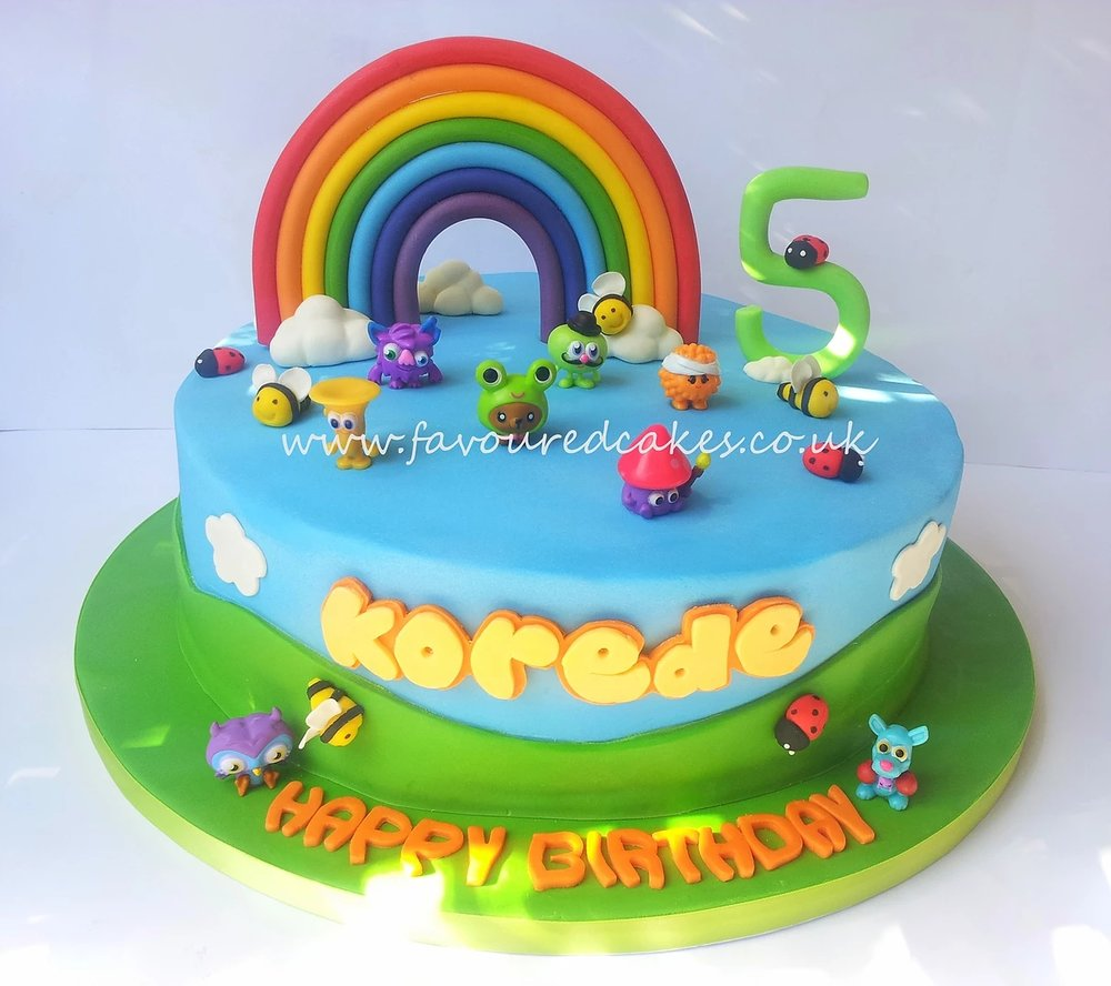 Moshi Monster cake