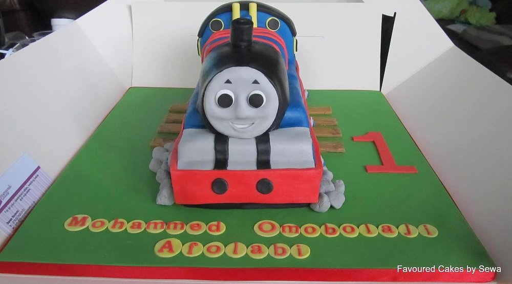 Thomas the Tank Engine Cake TM1